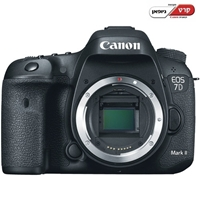 מצלמת רפלקס 20.2MP דגם Canon 7D Mark II גוף
