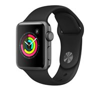 שעון חכם אפור חלל Apple Watch Series 3 GPS 38mm