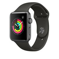 שעון חכם אפור חלל Apple Watch Series 3 GPS 42mm